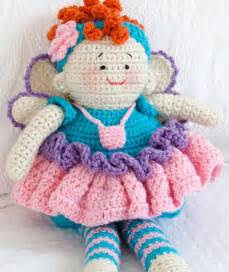 Tooth fairy doll red heart
