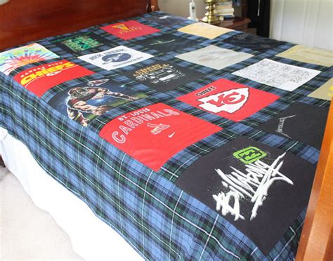 T Shirt Material Comforter by Custom T Shirt Memory Quilt Duvet Bed Size By Maidenjane