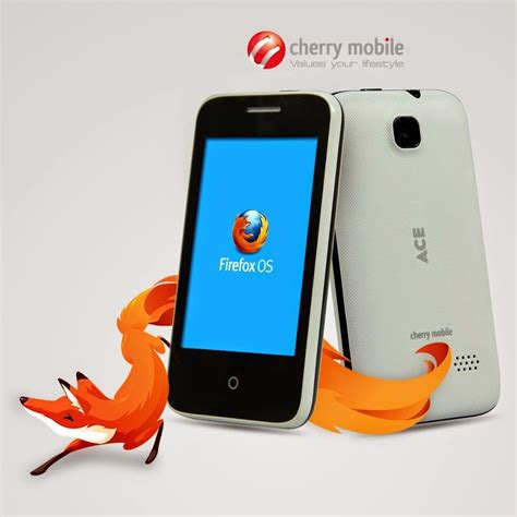 firefox os mobile phone cherry mobile ace firefox os smartphone at php1 499 jam