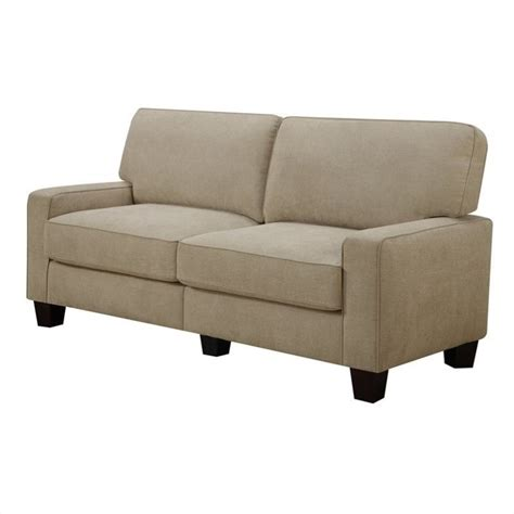 Sofa L Putus Standar serta rta martinique 73 quot fabric sofa standard contemporary in navarre beige ebay