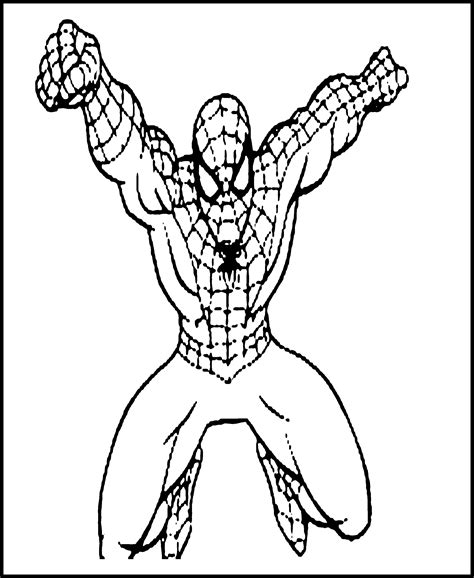 Free Printable Spiderman Coloring Pages For Kids Coloring Pages To Print And Color
