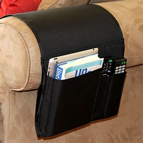 Remote Caddy For Recliner by Armrest Pocket Organizer Sofa Holder Remote Magazine