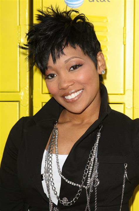 monica singer hairstyles monica short hair styles