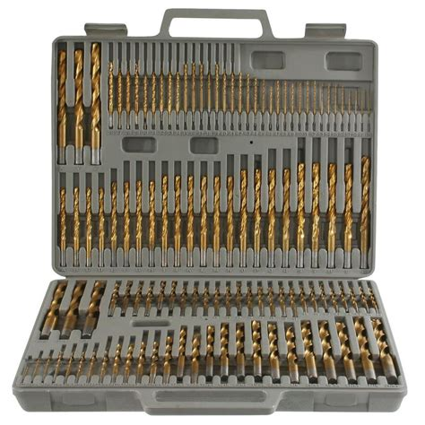setting drills to do at home pro series titanium drill bit set 115 piece ps07535