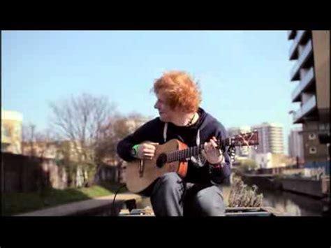 ed sheeran youtube playlist ed sheeran the a team acoustic video by ed sheeran
