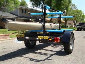 kayak trailers 30 photo ideas to buy or build your own