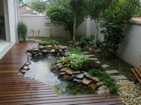 ide desain kolam ikan minimalis  kamu  suka