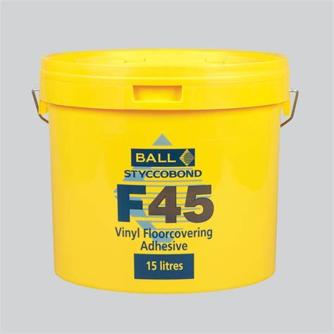 Styccobond F45   Vinyl Flooring Adhesive Spray   F.Ball & Co