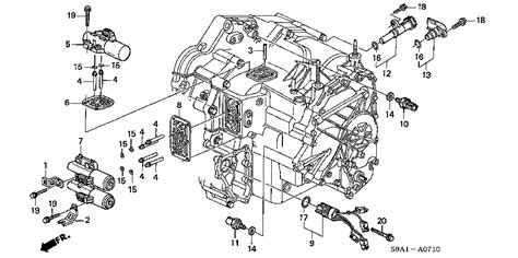 2003 honda crv parts diagram 1998 honda accord idle air valve location 1998