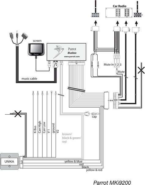 parrot ck3200 wiring diagram wiring diagram and schematics