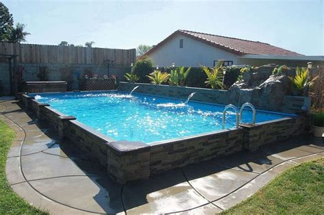 how big is a lap pool raised in ground pools pool to the masses at an