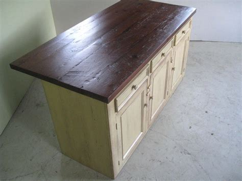 kitchen island made from reclaimed wood reclaimed wood kitchen island traditional kitchen