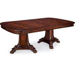 Thomasville Kitchen Table Thomasville Furniture Brompton Pedestal Dining Table 45321 782 Erik S Discount Furniture