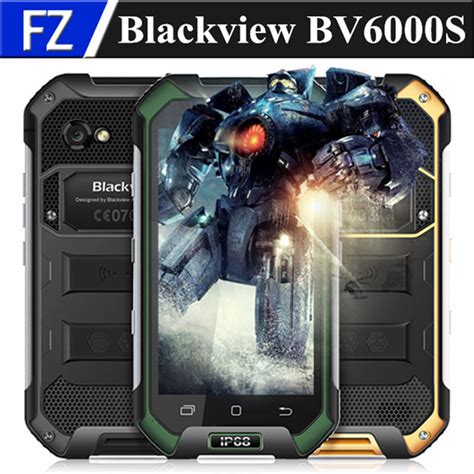 Blackview Bv6000s Waterproof Android 6 0 Octa 4g Lte 2gb Ram 16 D original blackview bv6000s 4 7 quot hd waterproof ip68 mtk6737t android 6 0 4g lte rugged phone 13mp