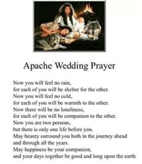 Apache Wedding Blessing Version by 1000 Images About Americans On