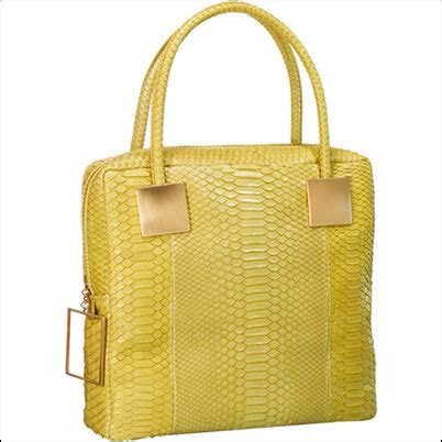 Other Designers Sang A Pleated Python Evening Clutch by Sang A River Square Tote Purseblog