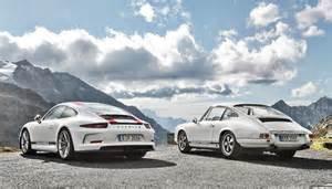 Porsche Of The Porsche 911 R Meets Its Ancestor