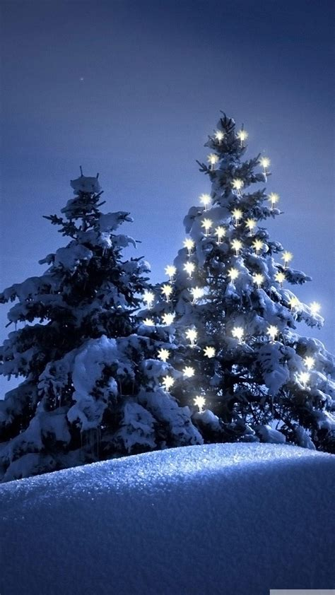 christmassnow pictures for iphones snow tree winter iphone 6 wallpaper axeetech