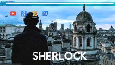 chrome themes sherlock sherlock2 chrome theme themebeta