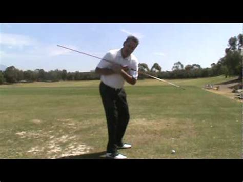 golf swing full shoulder turn luke donald slow motion golf swing doovi