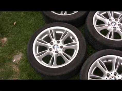 2003 bmw z4 rims 2003 2008 bmw z4 oem wheels and potenza tires