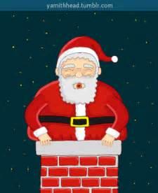 black gif xmas santa claus merry animation gif on gifer by steelsinger