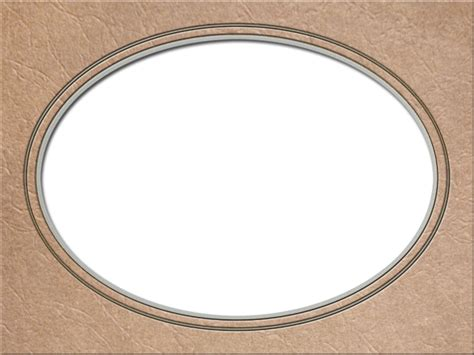 Oval Mat For Picture Frame by Presentation Photo Frames Wide Oval Mat Style 48