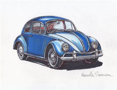 old volkswagen drawing vw beetle classic drawing www imgkid com the image kid