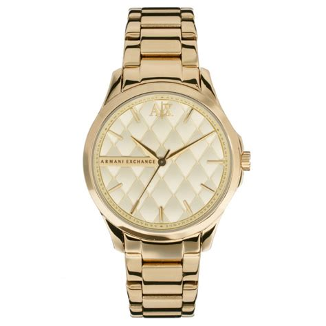 armani exchange gold tone ax5201