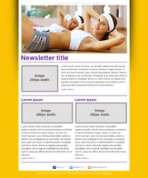Free Fitness Newsletter Templates Free Fitness Newsletter Templates
