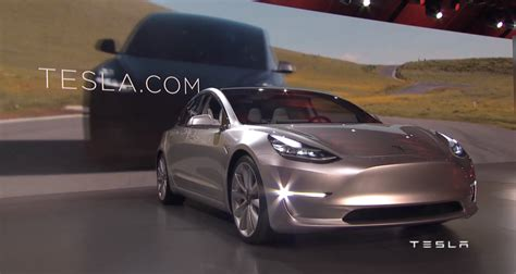Low Cost Tesla Tesla Unveils The Model 3 It S Low Cost Mass Production