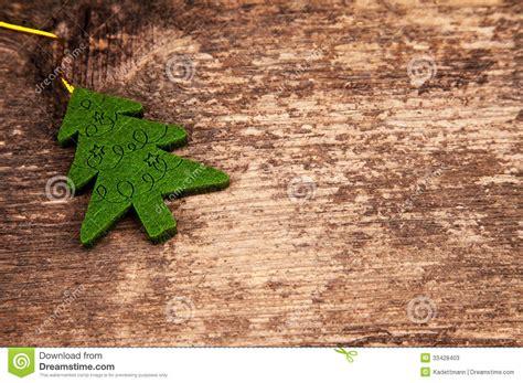193 rbol de navidad en la madera en un estilo del vintage