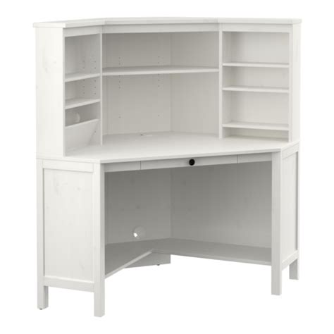 Corner Desk White Ikea Hemnes Corner Workstation White Stain Ikea