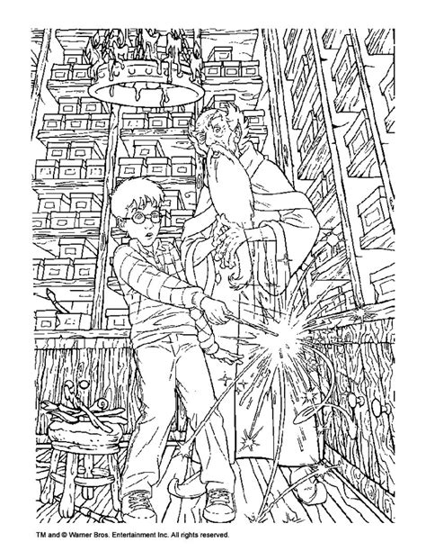 harry potter coloring pages dumbledore albus dumbledore and harry potter coloring pages