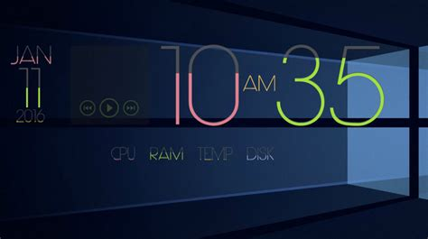themes are limited to 20 best rainmeter skins 2016 beebom