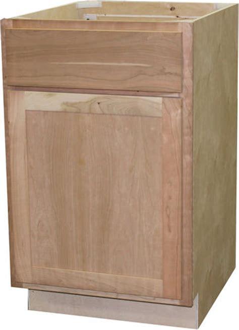 unfinished base cabinets menards quality one 12 quot x 34 1 2 quot unfinished cherry base cabinet