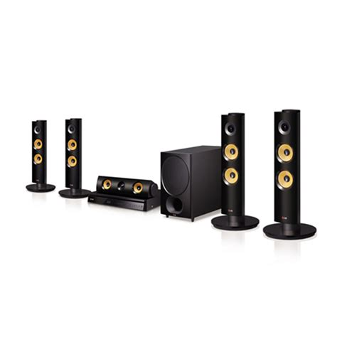buy lg bh6340h 5 1 home theater system black at