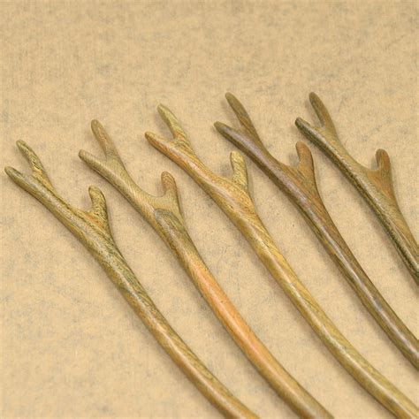 Handmade Hair Sticks - handmade wood wooden hair pin hair stick
