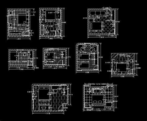 schemes interior bedroom furniture details  dwg plan