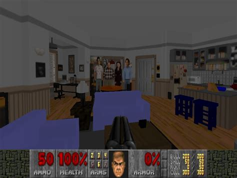seinfeld appartment doom 2 seinfeld jerry s apartment youtube