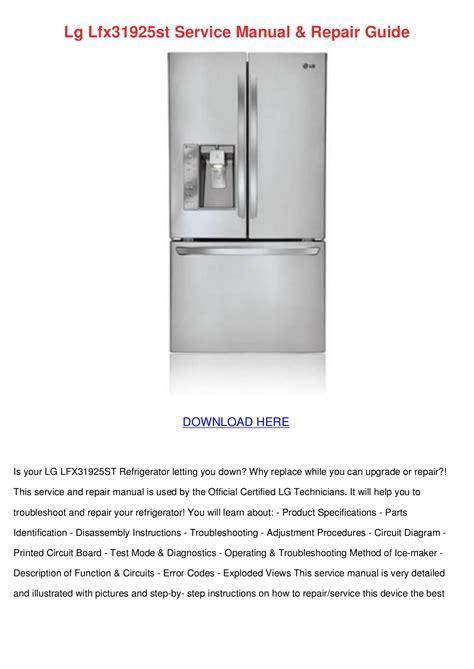 service manual how to repair top on a 1990 lexus ls engine 1989 1991 lexus es repair 1989 download free pdf for lg lfx31925st refrigerator manual