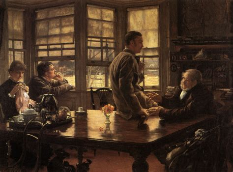 modern lifestyle the prodigal son in modern life the departure 1880