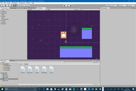 tutorial unity 2d android how to make a simple 2d platformer for android in unity