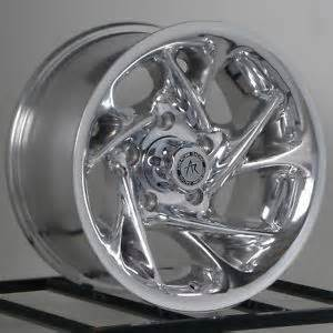 Isuzu Truck Chrome Rims 4 Lug Centerline Wheels Datsun Z Mg Ford Corvair Chevy Ii