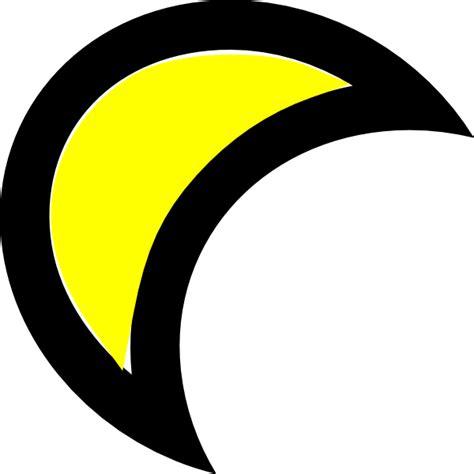 moon clipart moon clip at clker vector clip