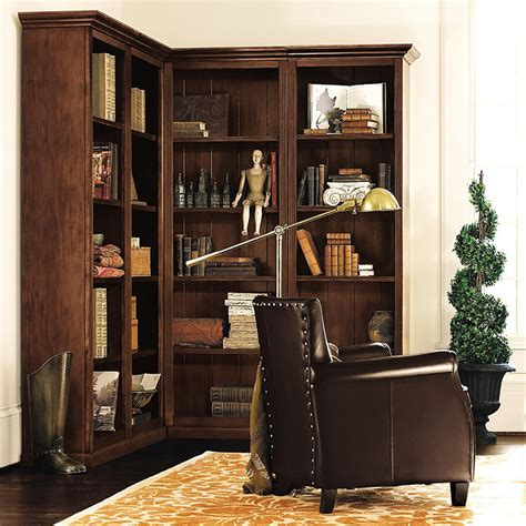 5 corner bookcase set ballard designs