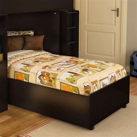south shore twin platform bed south shore logik twin platform bed on casters in