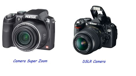 Sleting Dua Mikro digital digital compact vs digital dslr
