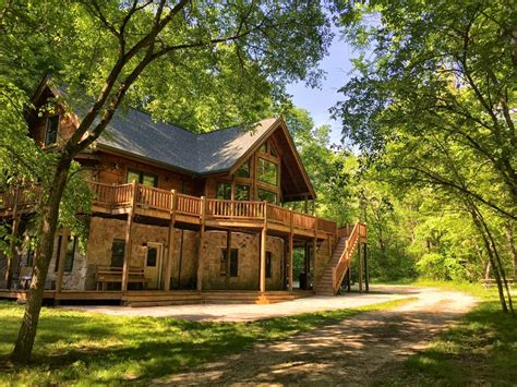 Vacation Cabins Sale Ohio by Log Cabin Vacation Home On 62 Wooded Vrbo