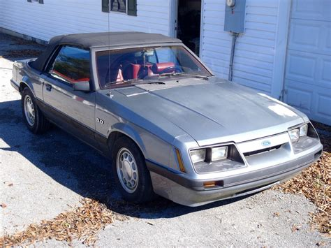 1985 ford mustang 5 0 lx fox convertible for sale